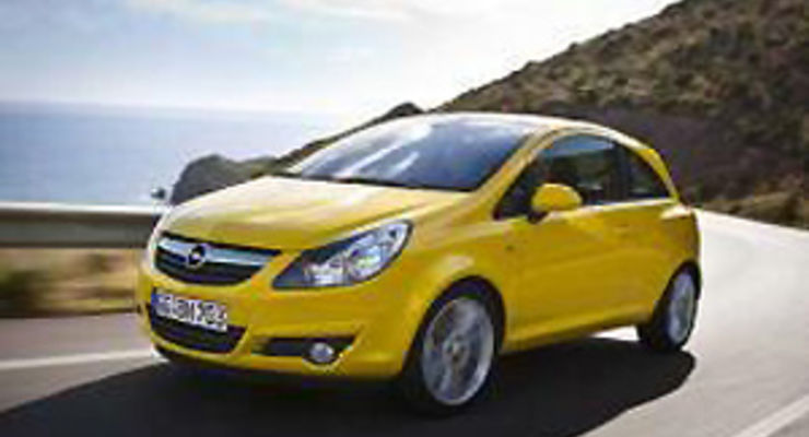01/2010: Opel Corsa kommt