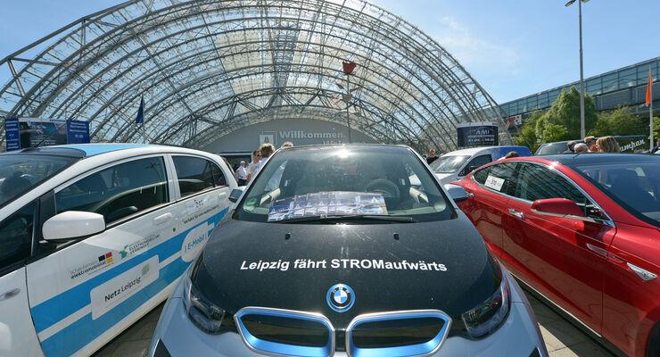 AMI Leipzig, Elektrofahrzeuge, E-Mobilität