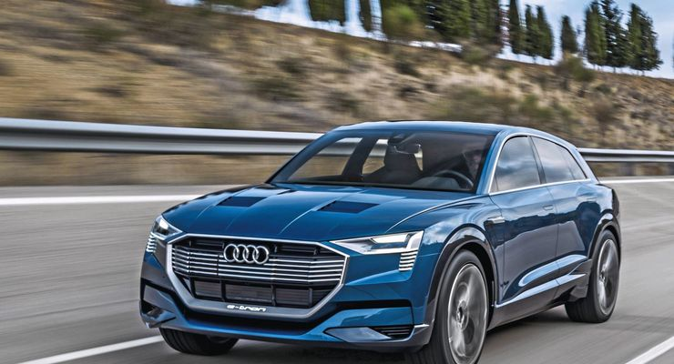 Audi E-tron Quattro 2018