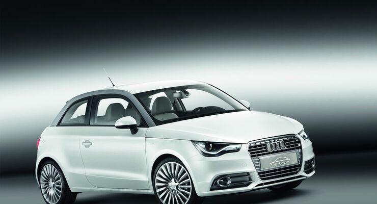 Audi forciert das Elektroauto