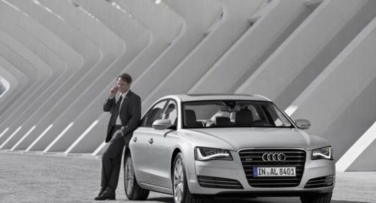 Audi will Abstand zu BMW und Mercedes-Benz in der Oberklasse verkürzen