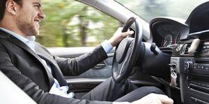 Autofahrer, Fahrer, Dienstwagen, Geschäftswagen, Firmenwagen, Business