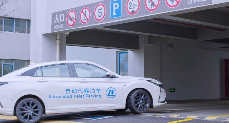 Automatisiertes Parken ZF