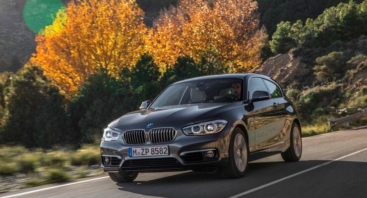 BMW 1er Facelift