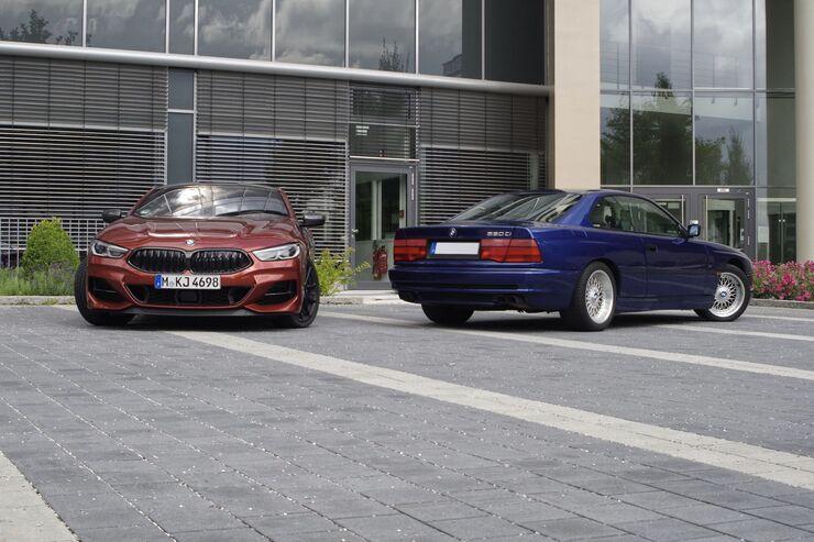 BMW 850Ci vs. BMW M850i xDrive