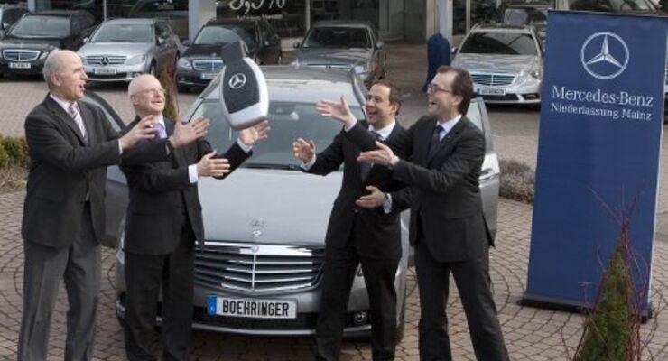 Boehringer Ingelheim setzt auf Mercedes-Benz