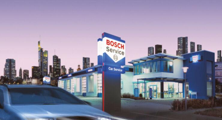 Bosch Service mit Flottencard preiswerter