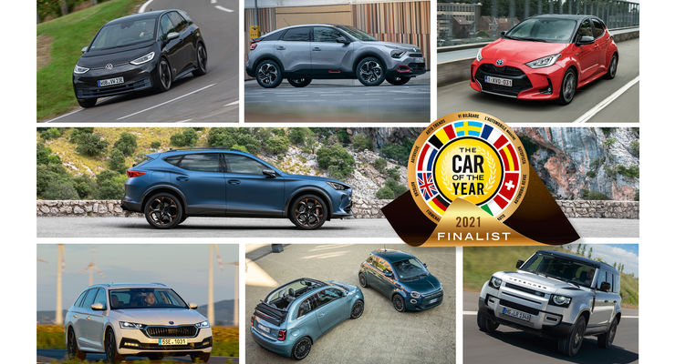 Car of the year 2021 Finalisten