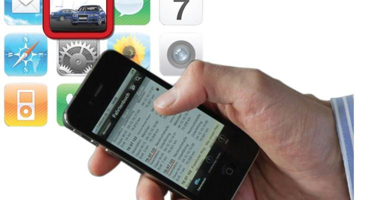 CarSync-Log, Fahrtenbuch-App, iPhone