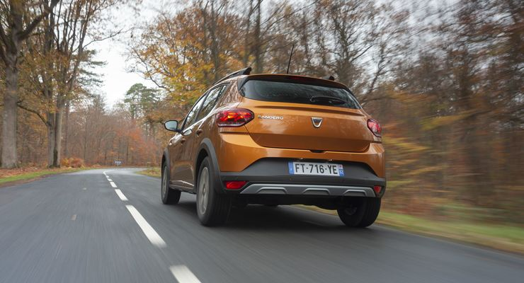 Dacia Sandero Stepway 2021