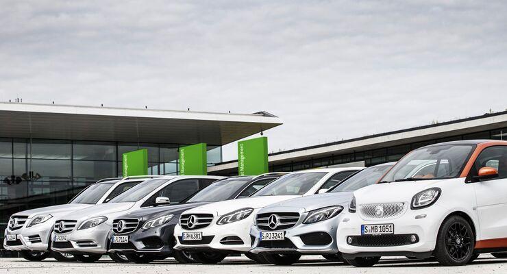 Daimler Fleet Management, Flotte