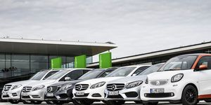 Daimler Fleet Management, Flotte