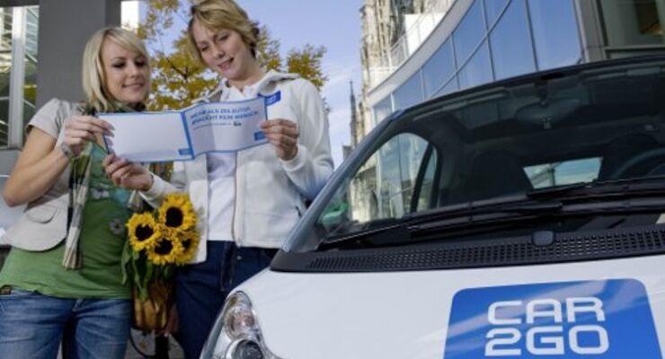 Daimler startet neues Mietkonzept