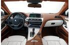 Das Cockpit des BMW 6er Gran Coupé