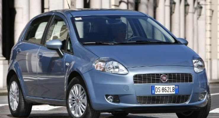 Der Fiat Grande Punto Natural Power