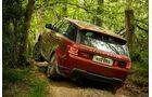 Der Range Rover Sport im Gelände