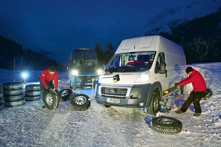 Die besten Winterreifen für Transporter