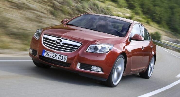 Doppelrückruf beim Opel Insignia