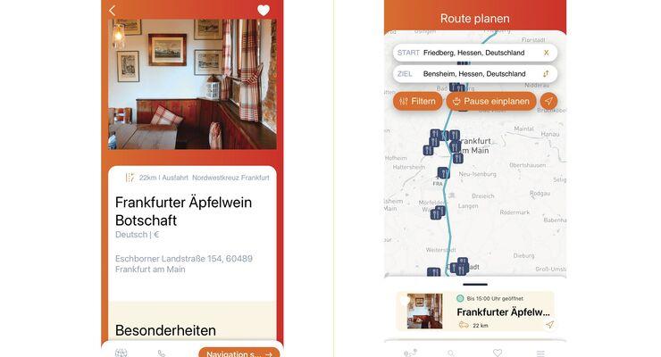 Drive & Dine App