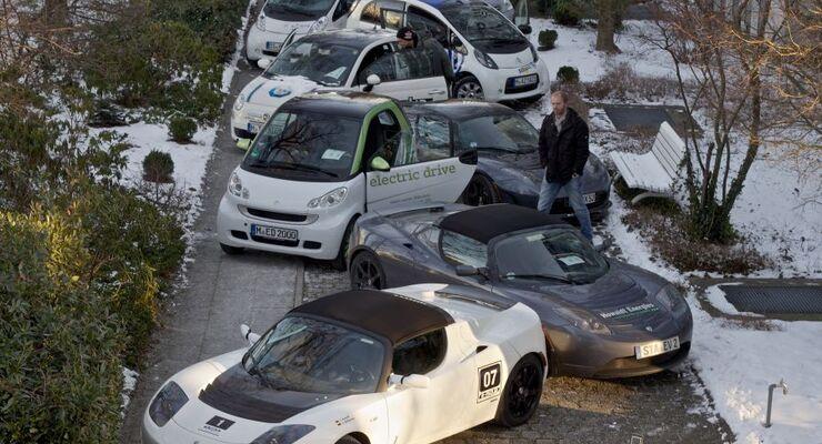 Elektroauto, München, Test