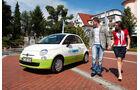 Elektroautos Flottenprojekte, Allgäu, Elektroautos, Fiat 500