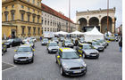 Elektroautos Flottenprojekte, Mini E