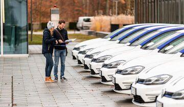 EnBW, Flotte, Fuhrpark, E-Autos, Elektroautos, VW e-Golf