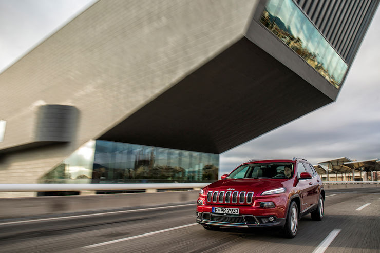Fahrbericht Jeep Cherokee