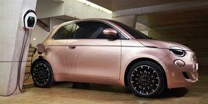 Fiat 500 3+1 2021, Ladestaion, Wallbox, E-Auto, Laden