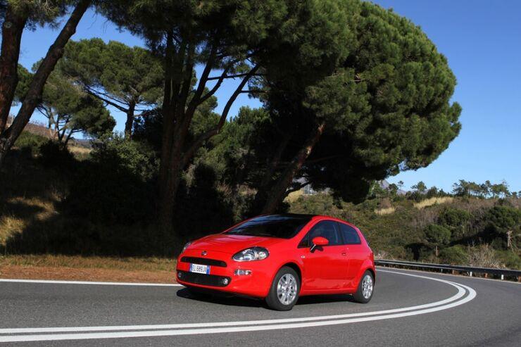 Fiat Punto Landstraße