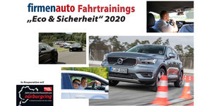 Firmenauto Fahrtrainings Eco und Sicherheit 2020
