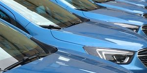 Flotte Fuhrpark Opel Mokka Parkplatz