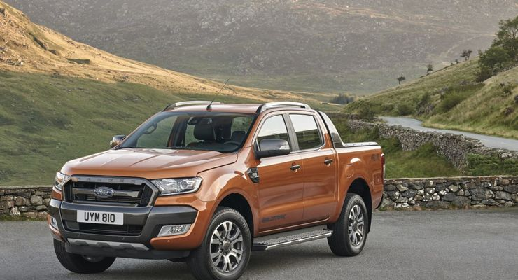 ford ranger facelift jetzt richtig bullig firmenauto. Black Bedroom Furniture Sets. Home Design Ideas