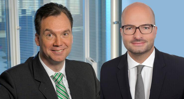 Hans-Joachim Wessel (49, l.) und Rolf Liebig (36)