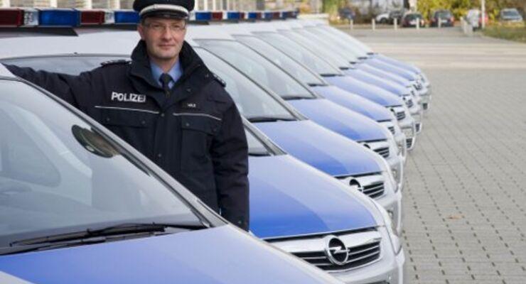 Hessens Polizei kauft Opel Zafira