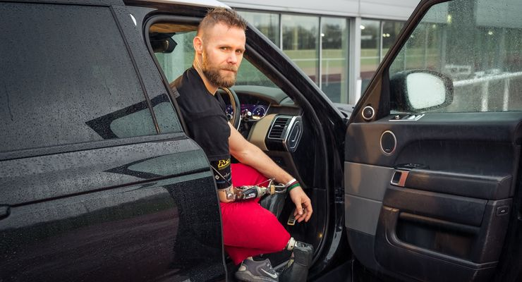 Jaguar Land Rover, automatische, Tür