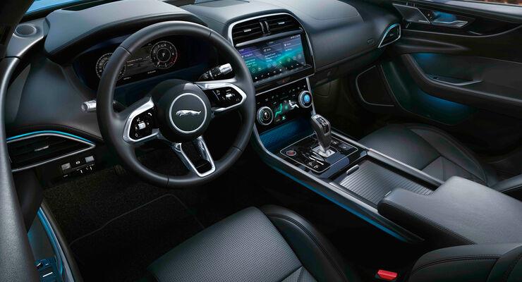 Jaguar XE, Modelljahr 2020, cockpit, armaturenbrett