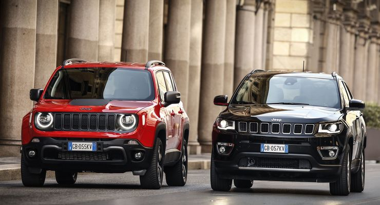 Jeep Renegade Compass 2021