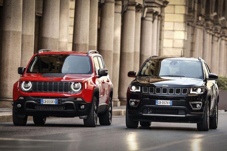 Jeep Renegade Compass 2021