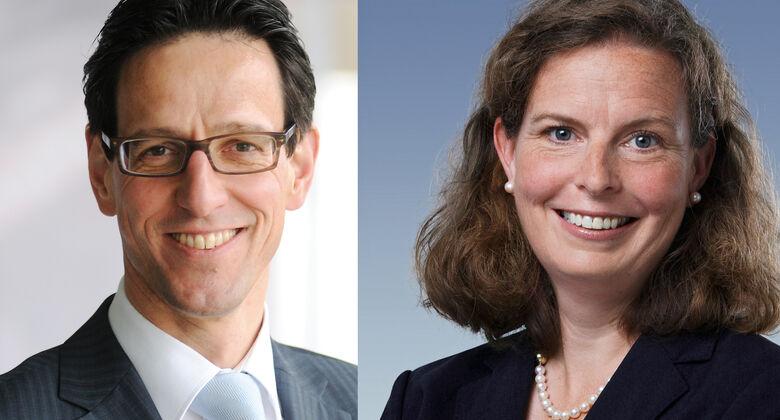 Joachim Ersing, Ulrike Mönnich, Vertrieb Mercedes Deutschland
