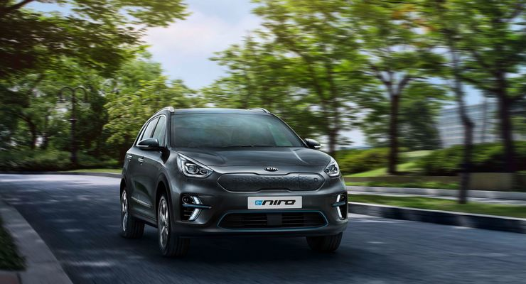 kia e niro 2019 elektrisch ber 400 kilometer fahren firmenauto. Black Bedroom Furniture Sets. Home Design Ideas