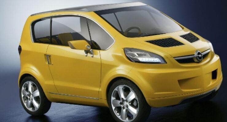 Kleiner City-Flitzer von Opel kommt