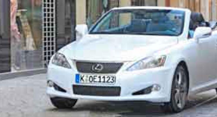 Lexus IS 250C: cruisen statt flitzen