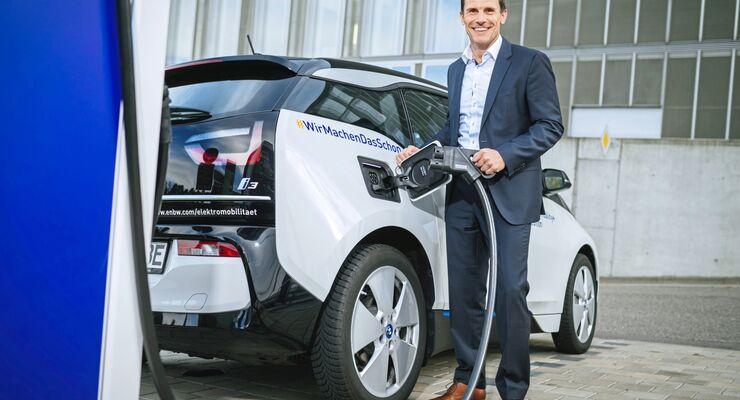 Marc Burgstahler EnBW Leiter Elektromobilität