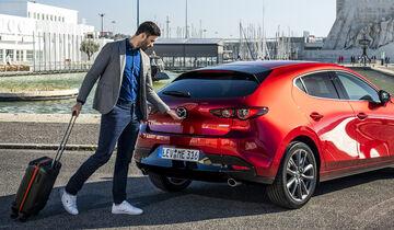 Mazda 3, Business, Reise, Koffer, Freizeit