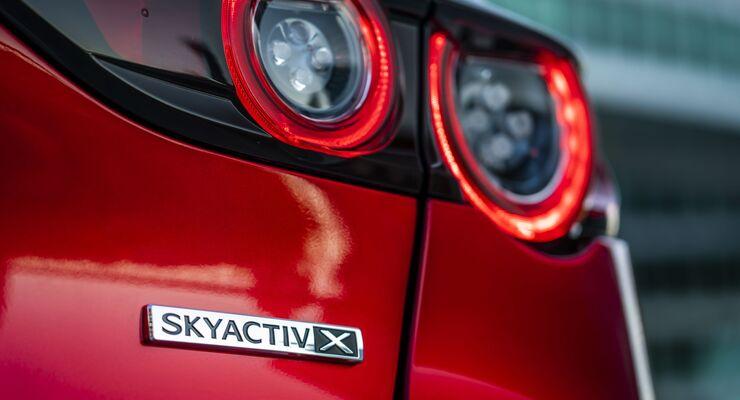 Mazda 3, Skyactiv-X Logo