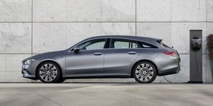 Mercedes CLA Shooting Brake  2020, Plug-in Hybrid, Ladestation, Ladesäule, laden, Kabel