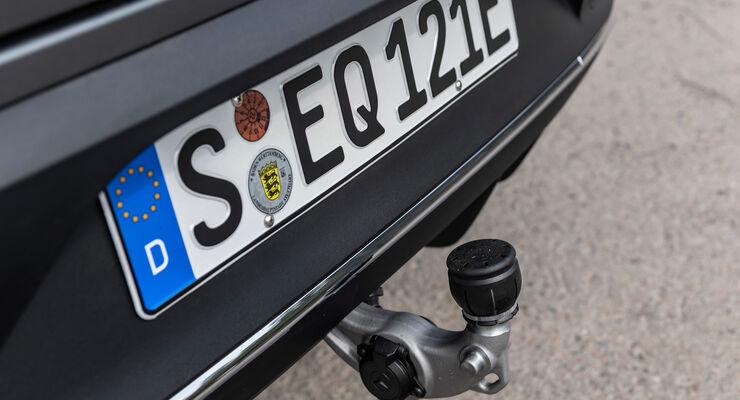 Mercedes EQC 2019, Anhängekupplung