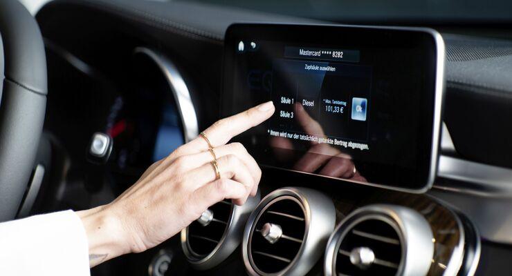 Mercedes MBUX-System 2021