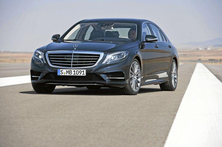 Mercedes S 300 Bluetec Hybrid